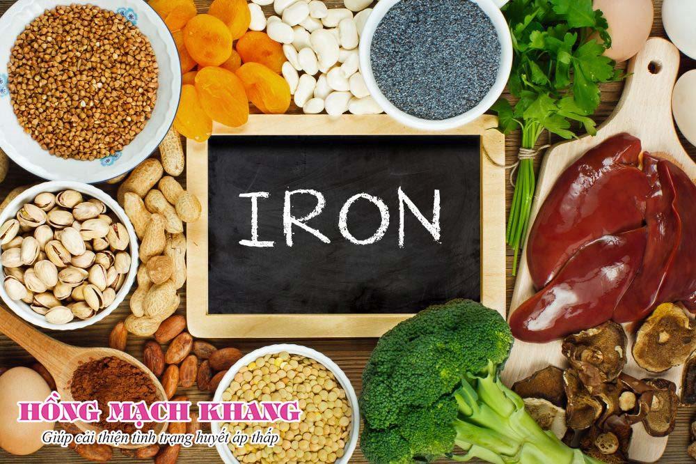 Tăng cường thực phẩm bổ máu giúp cải thiện tụt huyết áp bền vững